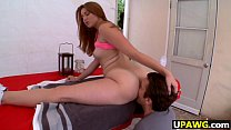 Redhead Rose Red Tyrell Gets Anal Banged