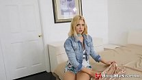 Teen Virgin Sis Chloe Cherry Fingered & Fucked In The Ass By Stepbro