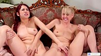 Milking MILF And Her Solo Friend Having Lesbian Sex - Aali Kali and Sabina Rouge