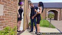 Brazzers - Real Wife Stories - Jasmine James Skyler Mckay Danny D and Keiran Lee - The Dinner Invitation