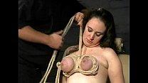 Extreme Tit Torments and Sadistic Punishment of english amateur slavegirl Nimue