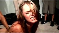 Bitch fucked at college party in front of everyone