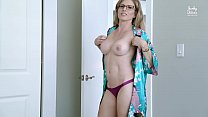 Step Mom Catches Me Jerking off to Porn and Takes over - Cory Chase