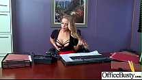 Slut Sexy Girl (Nicole Aniston) With Big Round Boobs In Sex Act In Office video-18