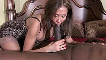HotWifeRio horny brunette wife gives black guy a nice slow blowjob