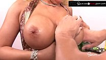 Busty Blonde Waitress Bimbo Candy Manson Gets Drilled By Johnny Sins