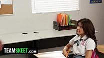 InnocentHigh - Ava Mendes Fucks Her Teacher For An A