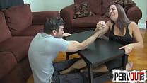 Arm Wrestling Foot Job BALLBUSTING FEMDOM HANDJOB