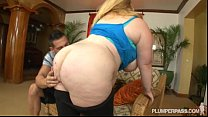 Fat Booty BBW Sashaa Juggs Is Used and Fucked By Huge Cock