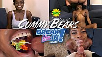 Cum Coated Candy Forced Down Tiny Black Girls Throat She Loves It