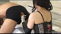 Japanese Femdom Electric Training Slave