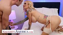Naughty America - Mommy Sarah Jessie is ready to get paid and fucked