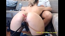 Camgirl Gets fucked by Machine *** www.girls4cock.com/siswet19 ***