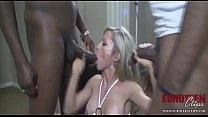 DFWKnight MILF Takes Three Black Cocks In All Her Holes