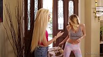 Pornstar Natalia Starr and her personal assistant Lyra Law