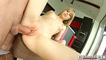 AllInternal Shy newcomer enjoys her vaginal creampie