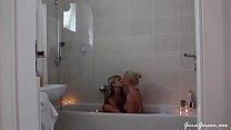 With Kiara Lord in my bath