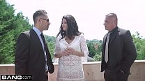 Glamkore - Coco de Mal face fucked outside & anal threesome