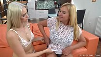 Old and young ass licking lesbian couple - Katy Sky and Pam Pink