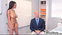 Sex Scene In Office With Slut Hot Busty Girl (Brittney White) video-05