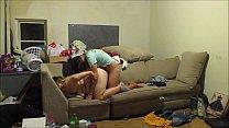 Real hidden cam Landlord caught new tenants having sex on his hidden cam intense sex and creampie