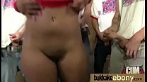 Hot Ebony Gangbang Fun Interracial 11