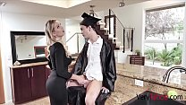 MOM and SON graduation DIck Down- Kenzie Taylor