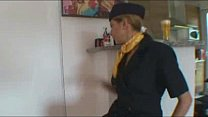 Hot And Sexy Amy As stewardess