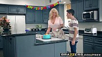 Brazzers - Mommy Got Boobs -  My Friends Fucked My Mom scene starring Ryan Conner, Jordi El Ni&ntild