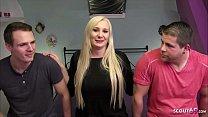 Anni Azubine beim Usertreffen Dreier von Scout69 Deutsch - German Threesome