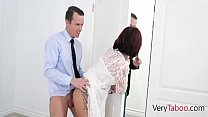 OH MY! My British Mom agrees to fuck me after her divorce!