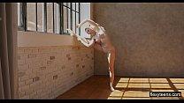 Emma Jomell super hot naked gymnastics