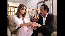 Gia Paloma gets fucked by father and friend
