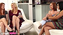 First Time Lesbian Swingers Swap Girlfriends, Part 1 - Addicted2Girls