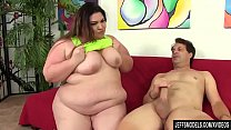 Steamy BBW Bella Bendz Sucks a Guy's Cock and Then Has Him Fuck Her Up the Ass