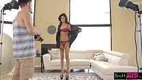 BrattySis - Modeling Shoot With Hot Sis Goes Hardcore
