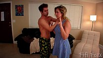 Brother Forces Sister to Give Him a Blowjob - Brainwashing - Fifi Foxx