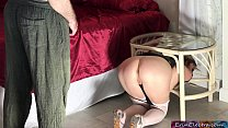Stuck stepmom gets fucked by stepson - Erin Electra