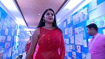 Actress Kanika Hot & Sexy Big Navel Show in Saree