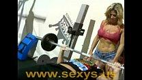 Muscle girl naked
