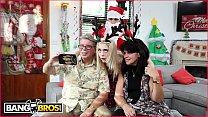 BANGBROS - Petite Young Blonde Anastasia Knight Fucked By Dirty Santa Claus!