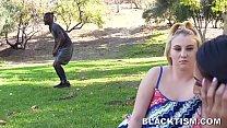 Teen Lesbian Dumps Girlfriend To Try Some Big Black Dick