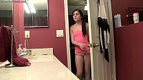 Renee Watches Dad in the Shower- Then Joins Him
