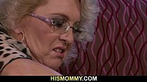 She is awakened by horny lesbian mommy
