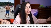Gatinha da web falando do narigudo da Rússia brasileira