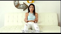 MyVeryFirstTime - Asian Mila Jade takes cock up her ass for the first time