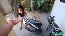 Thick ass Asian girl with tattoos craves big black cock interracial fucking from sex tourist on vacation