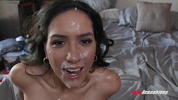 Tia Cyrus First Blowbang While Hubby Watches