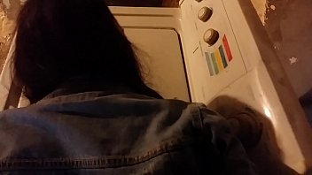 Philly thot gets fucked on dryer in ass