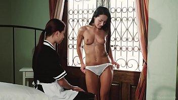 VivThomas - Housemaid Paula Shy and her lesbian mistress